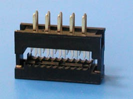 FDC-10, Разъем 2х5 контактов на плату для наколки на шлейф
