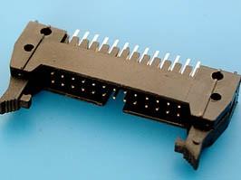 SCM-26, Разъем 2х13 вилка на плату, с защелками