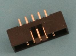 Фото 1/2 BH2-10 (DS1014-10) (IDC2-10MS), Вилка на плату прямая 10 конт. 2.00мм