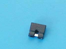 MJ-0-4, Джампер 4,5мм, шаг 2,54мм, открытый, 2 контакта