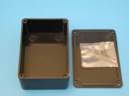 BOX-1, Корпус пластмассовый 76х50х27мм, черный