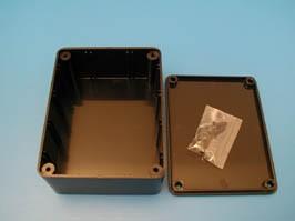 BOX-3, Корпус пластмассовый 100х77х41мм, черный