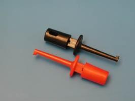 ITB-40R, Щуп-зажим для мультиметра 40мм (красный)
