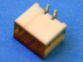 MW-2S, Разъем питания 2 контакта, вилка на плату, поверхностный монтаж, шаг 2мм