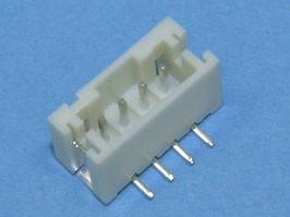 MW-4S, Разъем питания 4 конт.(п) шаг 2,00 на плату, поверхн. монтаж (YY-1100-S04ST)
