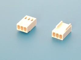 HU-3, Разъем питания 3 контакта, гнездо на кабель, шаг 2,54мм