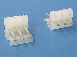 PWL-3, Разъем питания 3 контакта, вилка на плату, шаг 3,96мм