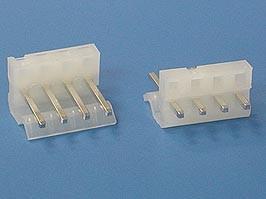 PWL-4, Разъем питания 4 контакта, вилка на плату, шаг 3,96мм