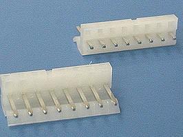 PWL-8, Разъем питания 8 контактов, вилка на плату, шаг 3,96мм