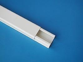 LE-30008, Короб 20х12мм прямоугольный, белый