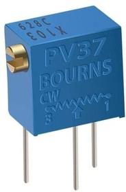 Фото 1/2 PV37W503, (СП5-2ВБ) 50 кОм (аналог 3266W-1-503), Резистор подстроечный