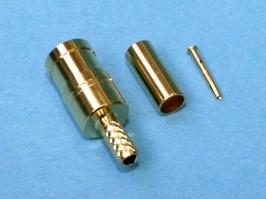 "SMB-C174J (K001B174), SMB гнездо ""м"" на RG-174, 188, 316, обжим"
