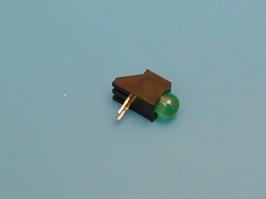 LA 93B/G, Светодиод в корпусе зеленый 8мКд