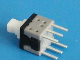 PSM6-1-0, Кнопка мини с фиксатором.