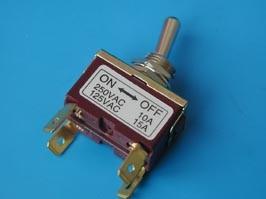 PST-115B, Тумблер 4 конт. DPST (on-off) (B067DP)