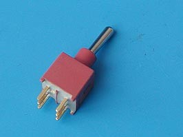 PST-142A., Тумблер мини 6 конт. DPDT (on-on) IP67 (B070ET)