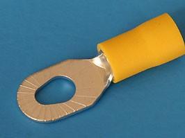 "TRI-5.5-3/5, Клемма тип ""O"" 3.7-5.3 мм на провод 4,0-6,0мм, изолированная, кратно 100шт."