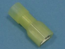 TAI-5.5MIF, Клемма ножевая 6,3мм, гнездо на провод 2,5-6,0мм, полностью изолированная, кратно 100шт.