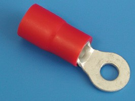 TRI-8-5, Клемма тип 'O' 5,3мм. пров. 10 мм, изол (кратно 100шт.)