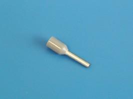 LT07508 (TIC-0.75-8) серый, Наконечник 8мм для обжима многожильн. кабеля 0,75 мм изолир. (E7508)