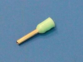TIC-0.34-6, Наконечник 6мм для обжима многожильного кабеля 0,34мм, изолированный, кратно 100шт.