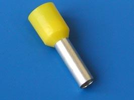 LT60012 (TIC-6-12) желтый, Наконечник 12мм для обжима многожильн. кабеля 6,0мм изолир.