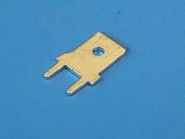 KLS8-01128-PC-250-0.8 (TA-M), Клемма нож.авто(п) 6,3мм на плату