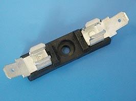 FHD-5, Держатель предохранителя 6.3х32мм, на приборный блок с клеммами 6,3мм, 30A/250B (201N1)