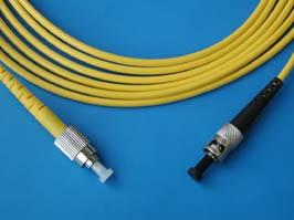 FPK-FC-ST-sm-sp-3, FC-ST патч-корд одномодовый 3м (Simplex)