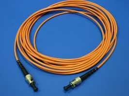 FPK-ST-ST-mm-sp-5, ST-ST патч-корд многомодовый 50/125 5м (Simplex)