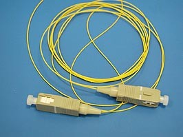 FPK-SC-mm-pt-1, Пигтейл SC mm 50/125 1м 0,9мм (2шт.)