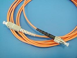 FPK-FC-SC-mm-sp-3, FC-SC патч-корд многомодовый 50/125 3м (Simplex)