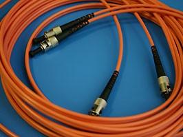 FPK-ST-ST-mm-dp-5, ST-ST патч-корд многомодовый 50/125 5м (Duplex)