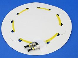 FPK-ST-sm-pt-1, Пигтейл ST одномодовый 1м 0,9мм (2шт.)