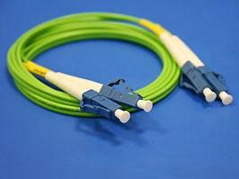 FPK-LC-LC-mm-dp-1, LC-LC патч-корд многомодовый 50/125 1м (Duplex)