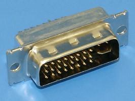 Фото 1/2 DVI-29M, Разъем DVI 29 контактов (п) на кабель