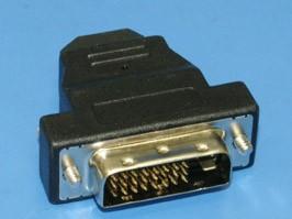 4413-1, Переходник DVI 25вилка - HDMI 19 гнездо