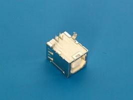 USBB-1J, Разъем USB, тип B, гнездо на плату