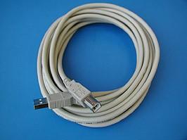 SCUAB-5, Кабель USB, тип А-В, вилка-вилка, 5 метров