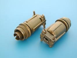MS3106E-10SL-4P, Разъём серии MS 2 контакта, вилка на кабель