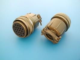 MS3106E-28-16S, Разъём серии MS 20 контактов, гнездо на кабель