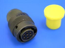 62IN-16E-10-7S, Разъём серии 62IN 7 контактов, гнездо на кабель