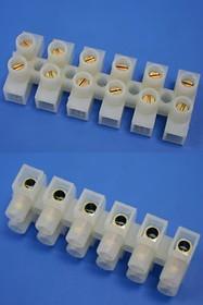 TLB-200W-6P, Клеммник электромонтажный 6 контактов, сечение провода 0.75 - 4.0 мм2