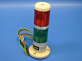 TPWL5-22R/G, Маячок 2-х секционный, d 50 мм, красный, зеленый