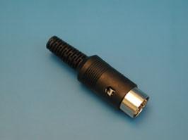 DN-8M2, Вилка DN-8M2 8конт.(п) на кабель