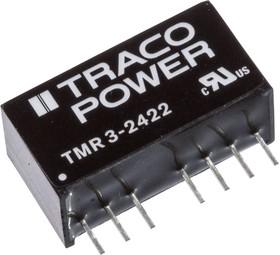 TMR 3-2422, Преобразователь DC/DC, на печатную плату | купить в розницу и оптом