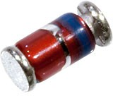 BZV55C3V9, SOD80 LLDS; MiniMelf, Стабилитрон 0.5Вт 3.9В