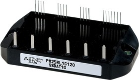 PM25RL1C120, 7 IGBT 1200V 25A 5-gen (L1-Series)