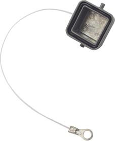 T1010033100-000, Пылезащитная крышка, Защитная крышка, Корпусными разъемами AMP серии H3A, Корпус из Металла
