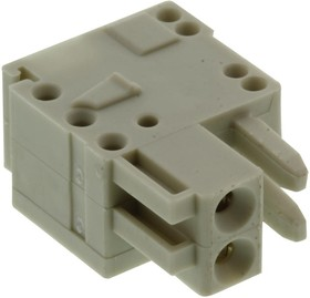 734-102, Conn Terminal Block F 2 POS 3.5mm ST Cable Mount 10A Box